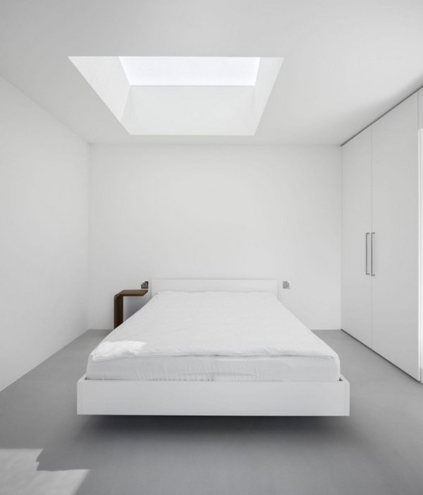Awesome Minimalismus Schlafzimmer In Weis Gallery - House Design ...