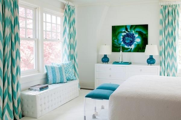Schlafzimmer Deko Wei