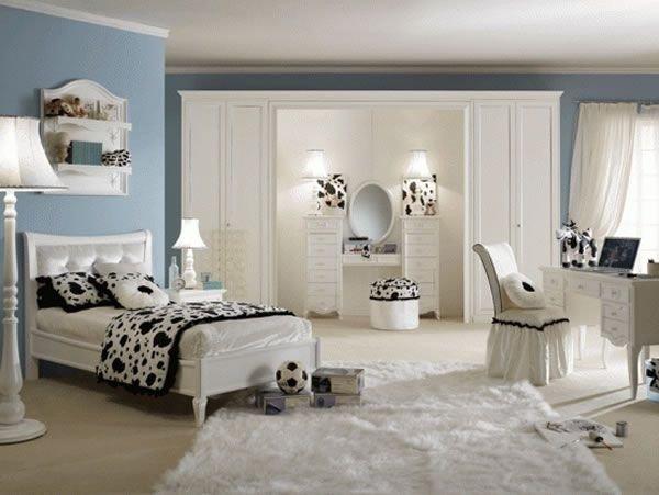 Schlafzimmer ideen farbgestaltung blau  Schlafzimmer Einrichten Weiße Möbel: Weiße möbel graue wände you.