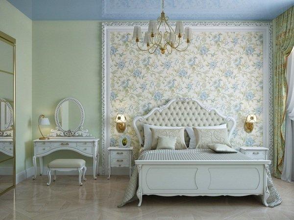 Romantischer Schlafzimmer Farbe Bilder
