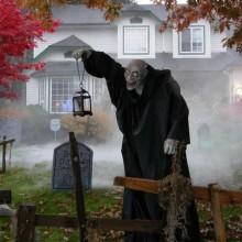scary halloween-Dekorationen Vorgarten Deko-Ideen zu halloween props