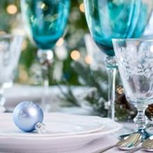schön der winter wonderland Dekorationen festliche Tischdekoration Weihnachten Dekor-Ideen