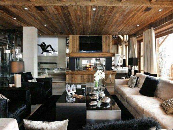 design : wohnzimmer schwarz weiss holz ~ inspirierende bilder von ... - Modernes Wohnzimmer Schwarz Wei Laminat