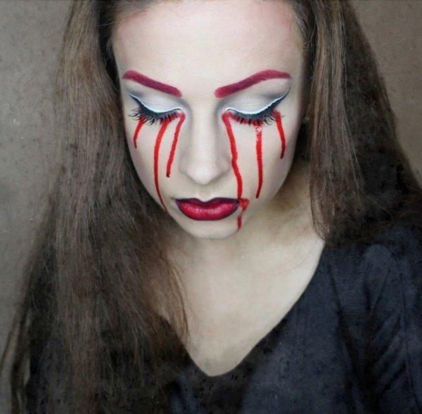 Einfache Halloween make-up Ideen – DIY Coole make-up in einem tick von Zeit