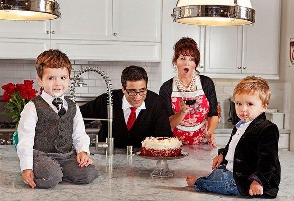 Die besten Weihnachts Foto Ideen – Tipps für eine große Familie Foto
