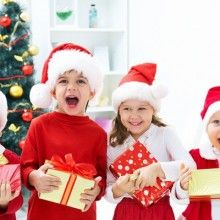 super-lustigen Weihnachts-Foto-Ideen Familienfotos Weihnachtskuchen