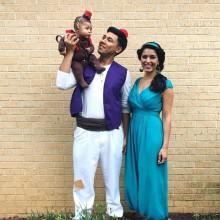 trio halloween-Kostüme Ideen Kostüme für die Familien-Ideen-halloween-party-Ideen