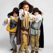 - trio halloween-Kostüme Ideen drei muskateers Kostüm