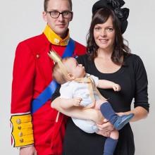 - trio halloween-Kostüme Ideen königlichen Familie halloween-Kostüm -