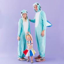trio halloween-Kostüme Ideen lustige halloween-Kostüme für Familien