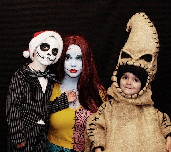 Trio Halloween Kostume Ideen Nightmare Before Christmas Halloween