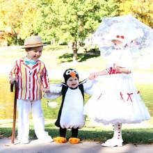 trio halloween-Kostüme halloween-Kostüme für Kinder Ideen aus mary poppins