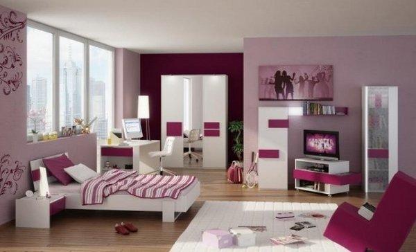 weiß Schlafzimmer Möbel teenager-Mädchen Schlafzimmer design-Ideen ...