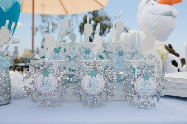 Winter Wonderland Dekorationen Kinder Party Thema Frozen