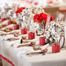 zeitgenössischer Silber weiß Weihnachten Tischdekoration moderne Weihnachtsdekoration