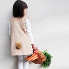 DIY Oster-outfits für Mädchen bunny Kleid