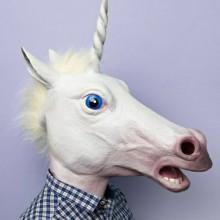 einhorn-maske-halloween-ideen-lustig-ungewoehnliche-38