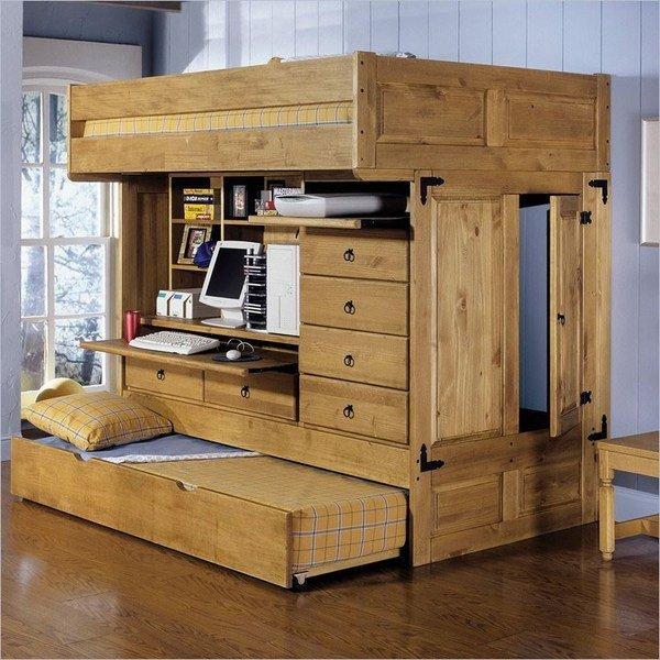 Etagenbett mit stauraum ideen kleine wohnung schlafzimmer - Etagenbett interio ...