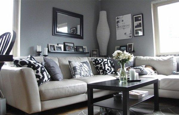 Design : Wohnzimmer Grau Weiß Design ~ Inspirierende Bilder Von ... Design Wohnzimmer Grau