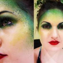 halloween-make-up-tipps-poison-ivy-gruen-rote-lippen-19