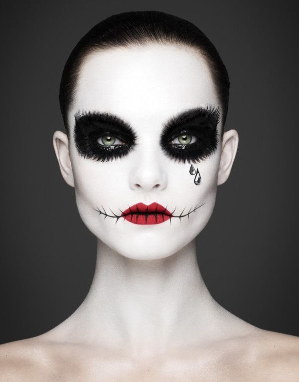 Halloween Make Up Ideen Maenner Frauen Diy Einfache Halloween Make