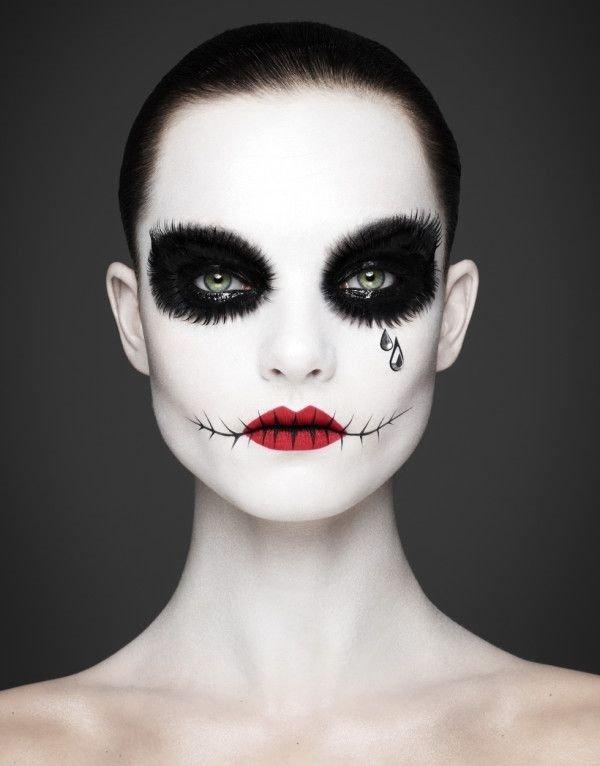 New halloween-make-up-ideen-maenner-frauen-diy-einfache-halloween-make &YD66