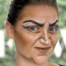 halloween-make-up-ideen-die-hexe-gesicht-make-up-ideen