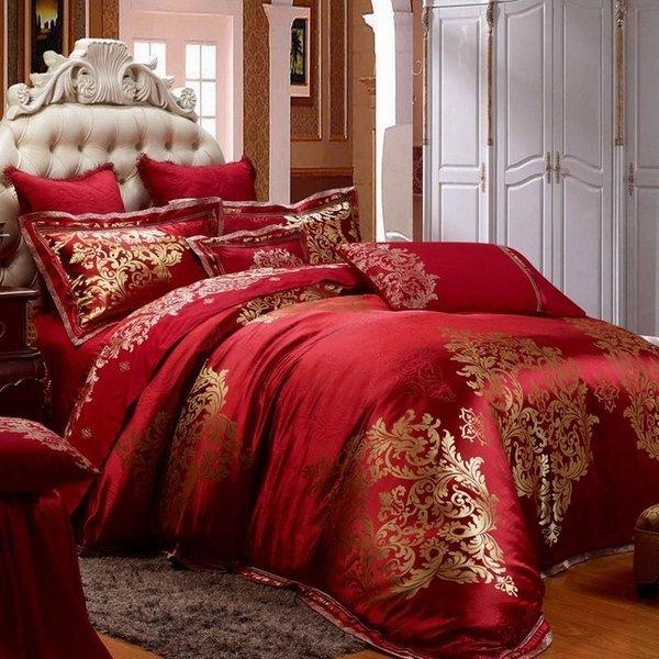 schlafzimmer rot gold ~ sammlung von bildern für home design, Wohnzimmer dekoo