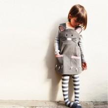 Mädchen Kleider für die Oster-Maus Kleid