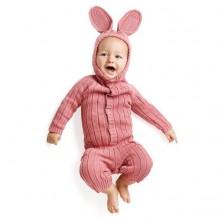 Osterhasen-Anzug für baby Kleinkind rosa Kaninchen