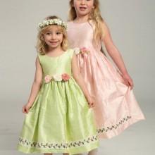 Ostern Kleider für Mädchen grün rosa Haare accessiries