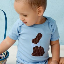 Ostern bunny bodysuit baby-junge-Ostern-outfit-Ideen