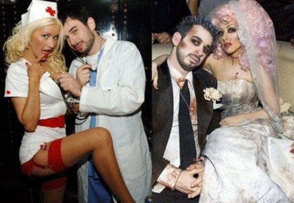 promis an halloween christina aguilera jordan bratman paar kostueme 46