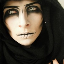 Rezept-halloween-Kontaktlinsen und make-up-Ideen
