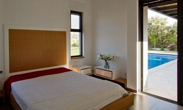schlafzimmer-design-einfachen-holz-paneel-wand-dekoration-wohnsitz ...