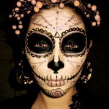 spinnennetz-elemente-halloween-make-up-ideen-die-frauen-4