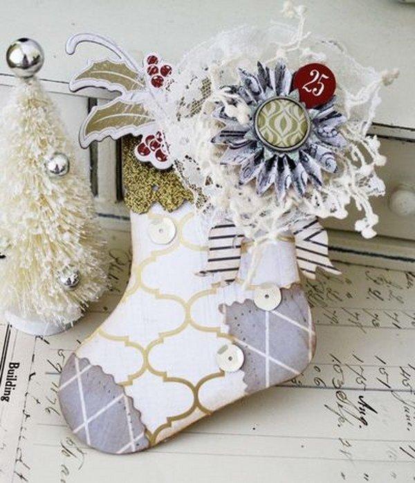 weihnachts geschenk card inhaber ideen weihnachten basteln. Black Bedroom Furniture Sets. Home Design Ideas