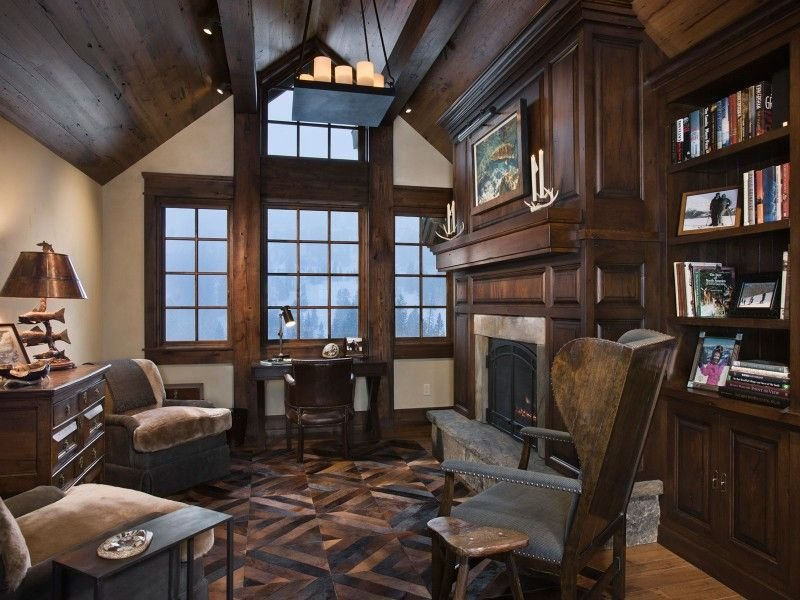 luxus interieur design idee für sennhütte im gebirge - 2014-11-04, Innenarchitektur ideen