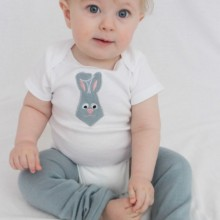 baby-junge-Ostern-outfits Ideen bunny top