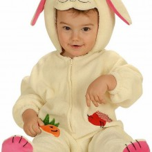 baby-junge-Ostern-outfits Ideen süße Osterhase