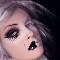 die besten halloween-Hexe make-up-Ideen grün schwarz