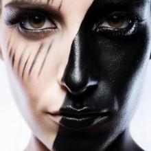 einfaches-halloween-make-up-ideen-fuer-frauen-schwarz-make-up
