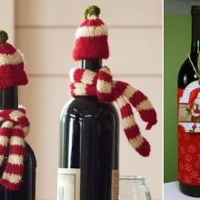 einzuwickeln-der-weihnachts-wein-handgemachte-deko-elemente