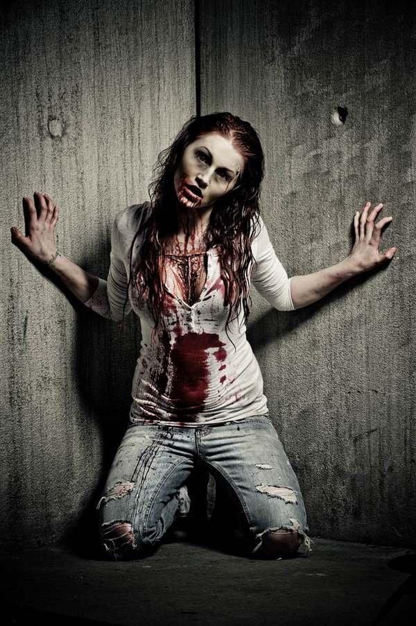 Gruselig Womens Halloween Kostueme Zombie Kunstopde