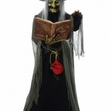 halloween-deko-ideen-halloween-requisiten-hexe-magiebuch