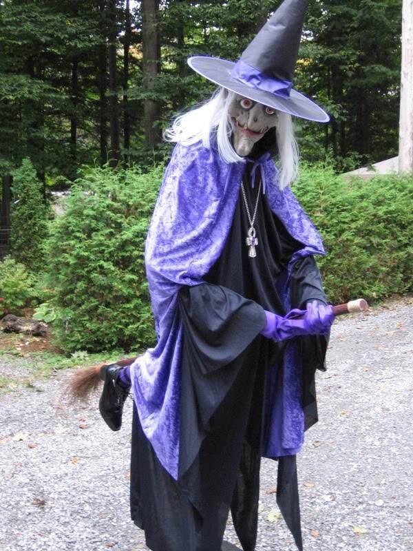 Halloween Garten Deko Ideen Halloween Requisiten Fliegende Hexe Kunstop De