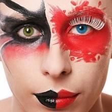 halloween-Kontaktlinsen Billig make-up Ideen, farbige Kontaktlinsen für halloween -