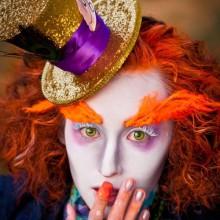 halloween-Kontaktlinsen-make-up-und Kostüm-Ideen