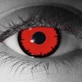 halloween Kontaktlinsen special effects roten Linsen