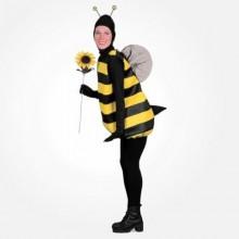 halloween-kostueme-fuer-schwangere-frauen-bumble-bee-kostuem